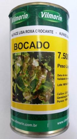 Semente Alface Bocado (Vilmorin) - 7.500 sementes